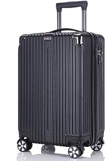 レーズ(Reezu) スーツケース ファスナー 軽量 キャリーケース ジッパー 耐衝撃 キャリーケース 機内持込 キャリーバッグ 人気 大型 TSAロック付 静音 旅行出張 1年保証