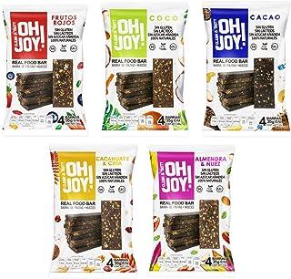 Combo 5 (Oh Joy! variedad de sabores, Cinco 4packs barras de 35 g c/u)