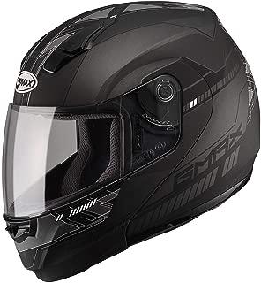 GMAX Unisex-Adult Full-face Style G1041458 TC-21F 04 Modular Street Helmet Black/Dark Silver 2x (XX-Large)