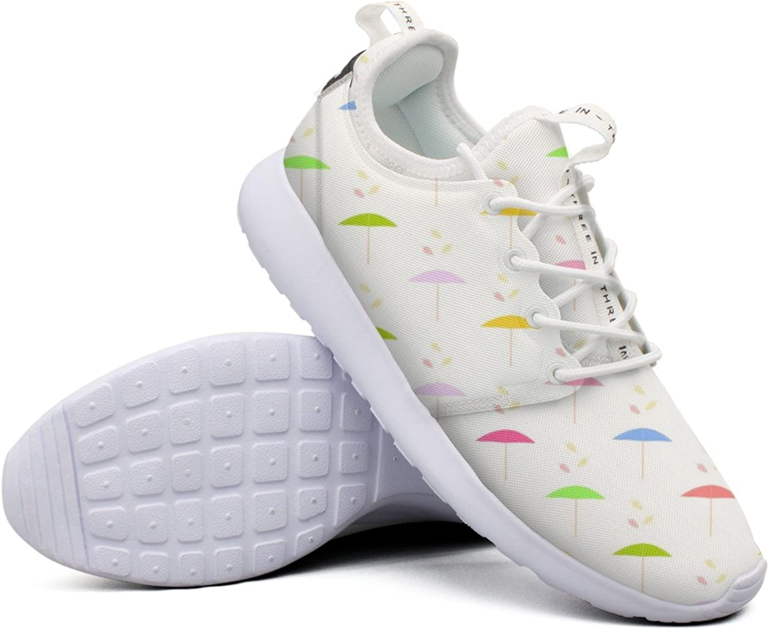 Pretty Women Parasol Pattern Paper colorful Net Navy Casual Running shoes