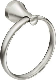 Moen MY6286BN Hamden Towel Ring, Spot Resist Brushed Nickel