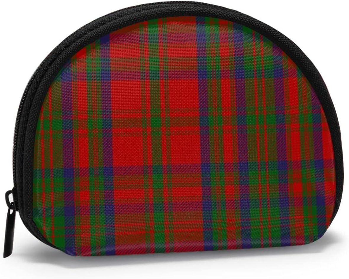 Scottish Clan Matheson Tartan Cute small zipper Coin Purses Vintage zipper Pouch Change Purse Wallets