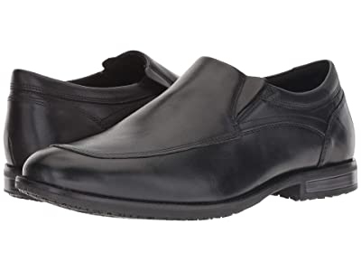 Rockport Dustyn Slip-On (Black) Men