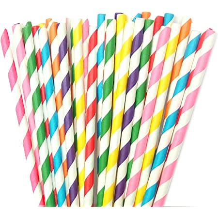 Details about  /24 x Paper Party Smoothies Drinking Straws Pastel Biodegradable