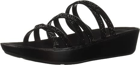 FitFlop Women's Linny Crystalled Slide Sandal