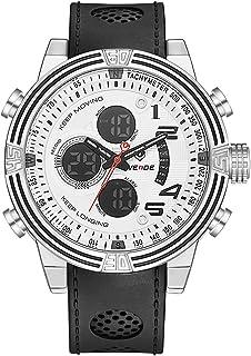 WEIDE WH5209 Quartz Digital Electronic Watch Business Men Fashion Casual Outdoor Sports Male Wristwatch Dual Time Month Da...