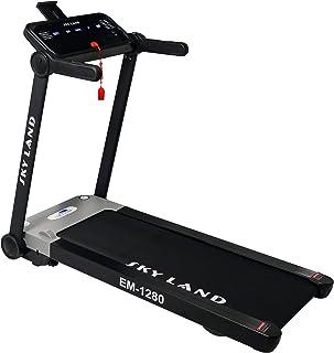 Sky Land Folding Home use Electric Motorized Walking Treadmill-EM-1280, Black