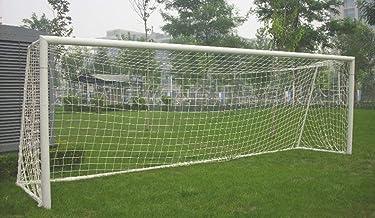 Mitef Voetbal Doel Net Volledige grootte Ultra Draagbare Training Voetbal Net Gemakkelijk Opvouwbare Koord: 2mm 6x12ft(1.8...