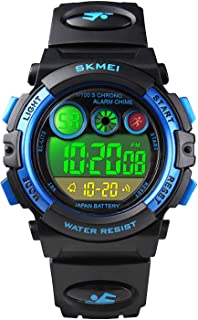 Kids Digital Sport Watch for Boys Girls, Kid Waterproof...