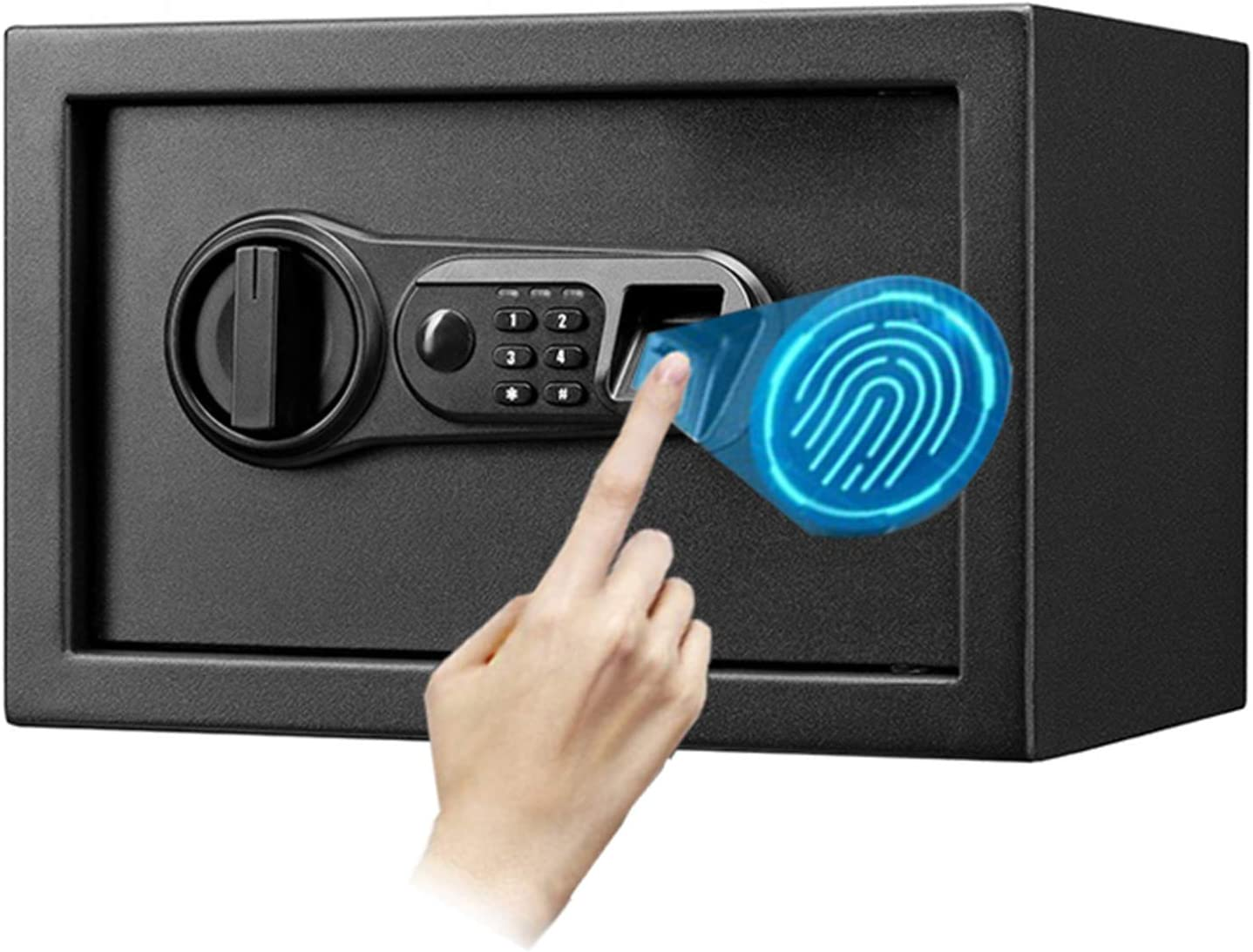 YJF-ZWS Wall Safe Fingerprint Box w Super sale period limited Home for Bedside Max 85% OFF