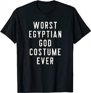 Couples Halloween Costume Worst Egyptian God Costume Ever T-Shirt