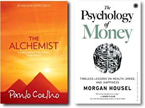 The Alchemist + The Psychology of Money (2 Books Combo with Free Customized Bookmarks)