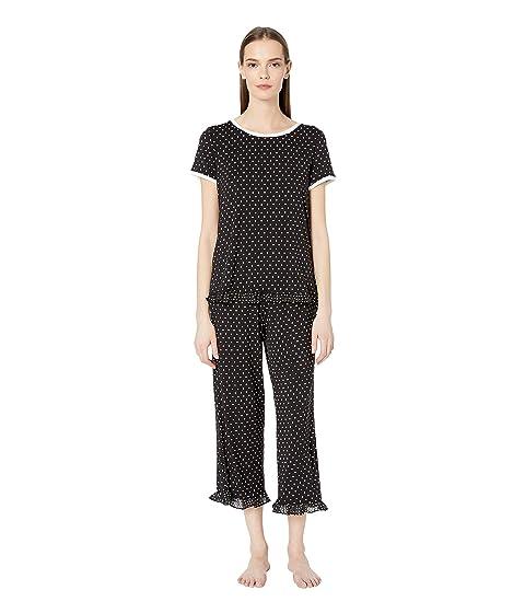 Kate Spade New York Classic Dot Cropped Pajama Set