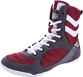 Boxing Shoes Profession Fighting Trainers Adult Kids Indoor Fitness Boots Sneakers Anti-Skid Lightweight Breathable Unisex