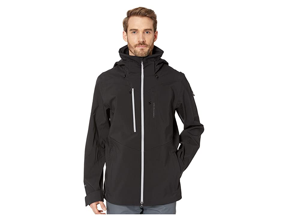 Obermeyer Foracker Shell Jacket (Black) Men