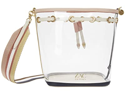 ZAC Zac Posen Lacey Glass Drawstring Crossbody (Multi/Clear Rainbow) Handbags