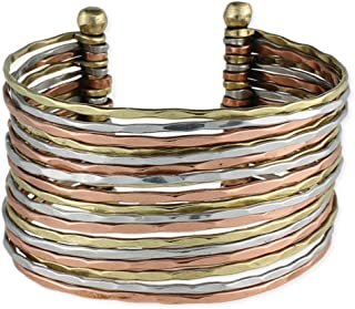Best gold silver and copper bracelets Reviews