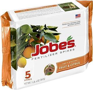 Jobe's 01002 Fruit & Citrus Fertilizer Spikes, 5