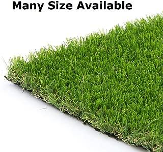 Synturfmats 6'x10' Artificial Grass Carpert Rug - Premium Indoor/Outdoor Green Synthetic Turf, 4-Toned Blades