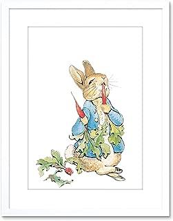 Wee Blue Coo Helen Beatrix Potter Peter Rabbit Radishes Framed Art Print F97X10334