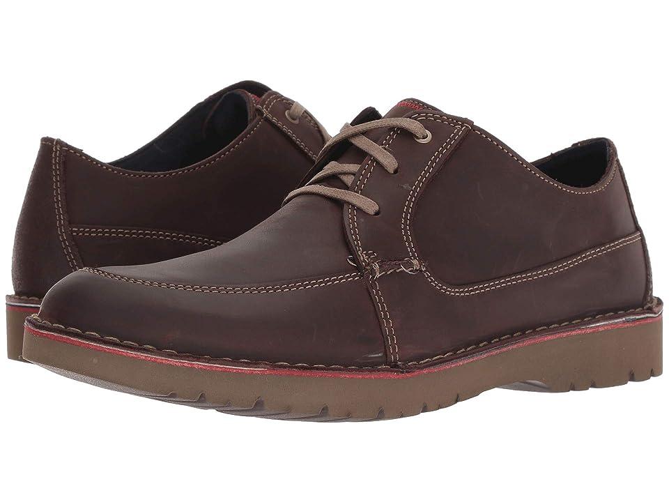 Clarks Vargo Walk (Dark Brown Leather) Men