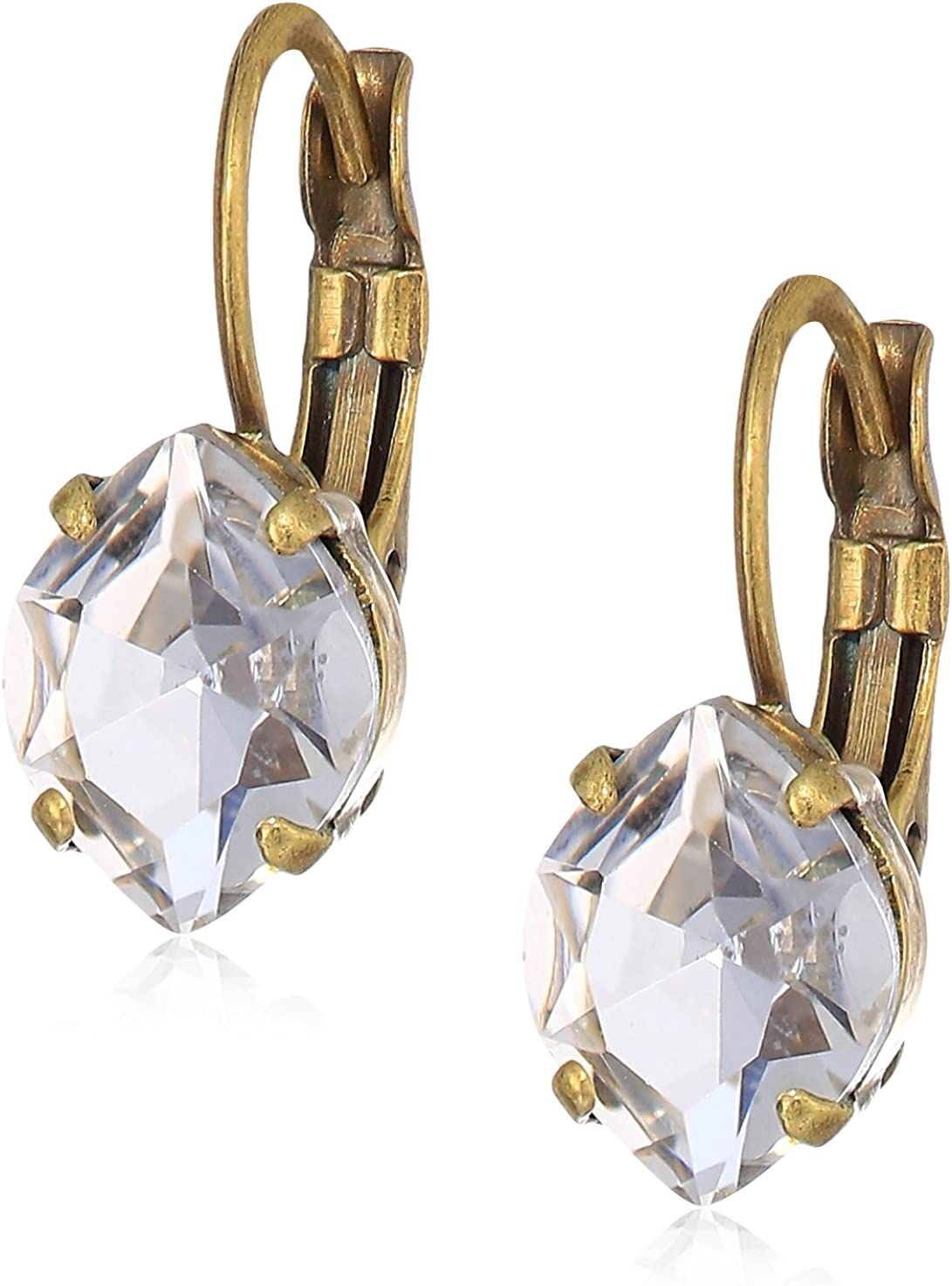 Sorrelli Petite Navette Crystal Drop Earrings