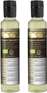 Naissance Aceite culinario de Nuez de Macadamia Virgen BIO - 500ml (2 x 250ml)- Convive, certificado ecológico y 100% puro.