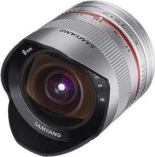 Samyang 8mm Fisheye F2.8 Manual Focus Lens for Fuji X   Silver