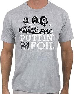 Puttin' On The Foil - Hanson Brothers - Slap Shot Hockey T-Shirt Hockey for Men