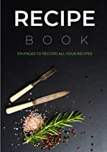 Recipe Book To Write In Your Own Recipes, Recipe Book Organizer - Recipe Book To Fill In, Blank Recipe Book, Blank Cookboo...