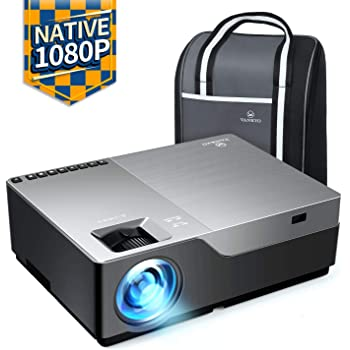 """VANKYO Performance V600 Native 1080P LED Projector, HDMI Projector with 300"""" Display Compatible with TV Stick, HDMI, VGA, USB, Laptop, iPhone Android for PowerPoint Presentation"""