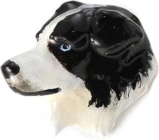 Australian Shepherd Dog Pewter Lapel Pin, Brooch, Jewelry, D016