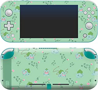 """Controller Gear Authentic and Official Licensed Nintendo Switch Lite Skin - Pokemon """"Bulbasaur Floral Set 1"""" - Nintendo Sw..."""