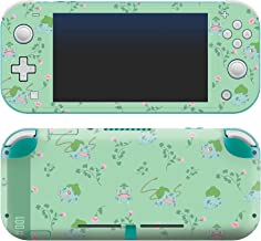 "Controller Gear Authentic and Official Licensed Nintendo Switch Lite Skin - Pokemon ""Bulbasaur Floral Set 1"" - Nintendo Sw..."