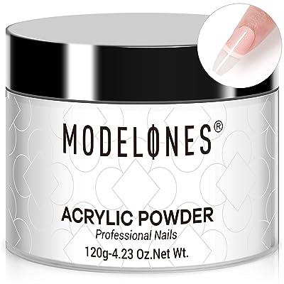Modelones 4.23oz Clear Acrylic Powder Professional Acrylic