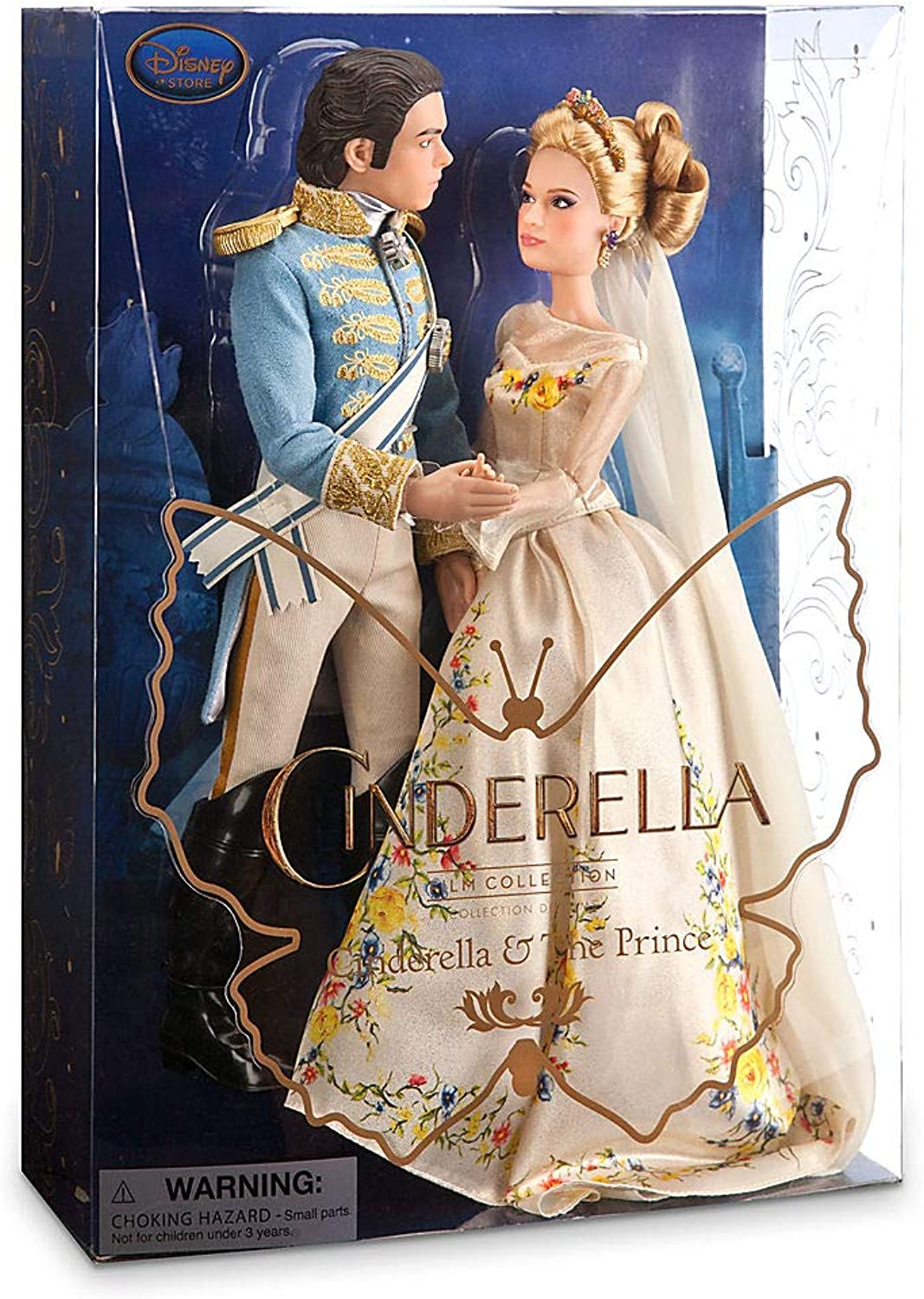 Disney Film Collection - Cinderella und Prinz Charming Puppenset