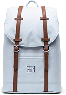 Herschel Supply Co. Retreat Mid-Volume Ballad Blue Pastel Crosshatch One Size