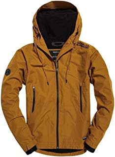 Superdry Men's Hooded Technical Elite Windcheater Jacket Yellow(Forest Umbre)