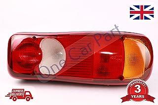 700//50024 Lot de 2 lentilles de feu arri/ère//freinage pour pelleteuse JCB 2CX 3CX 4CX