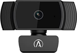 Andrea Communications W-300AF Full 1080P Webcam with Auto Focus and Desktop Tripod Included, Black