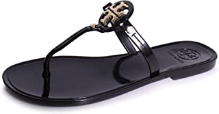 8c2533d93f461d Tory Burch Mini Miller Flat Jelly Thong Sandals - Black Size 9