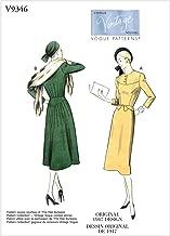 Vogue V9346, patrón de costura, plantilla, papel, blanco, 6-8-10 ...
