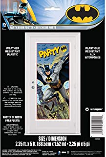 "Plastic Batman Door Poster, 60"" x 27"""