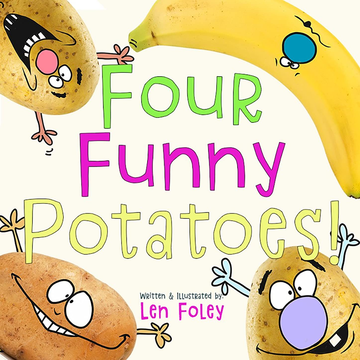 ピカソ対放つFour Funny Potatoes! (Hilarious Rhyming, Picture Book for Kids Ages 3-7) (English Edition)