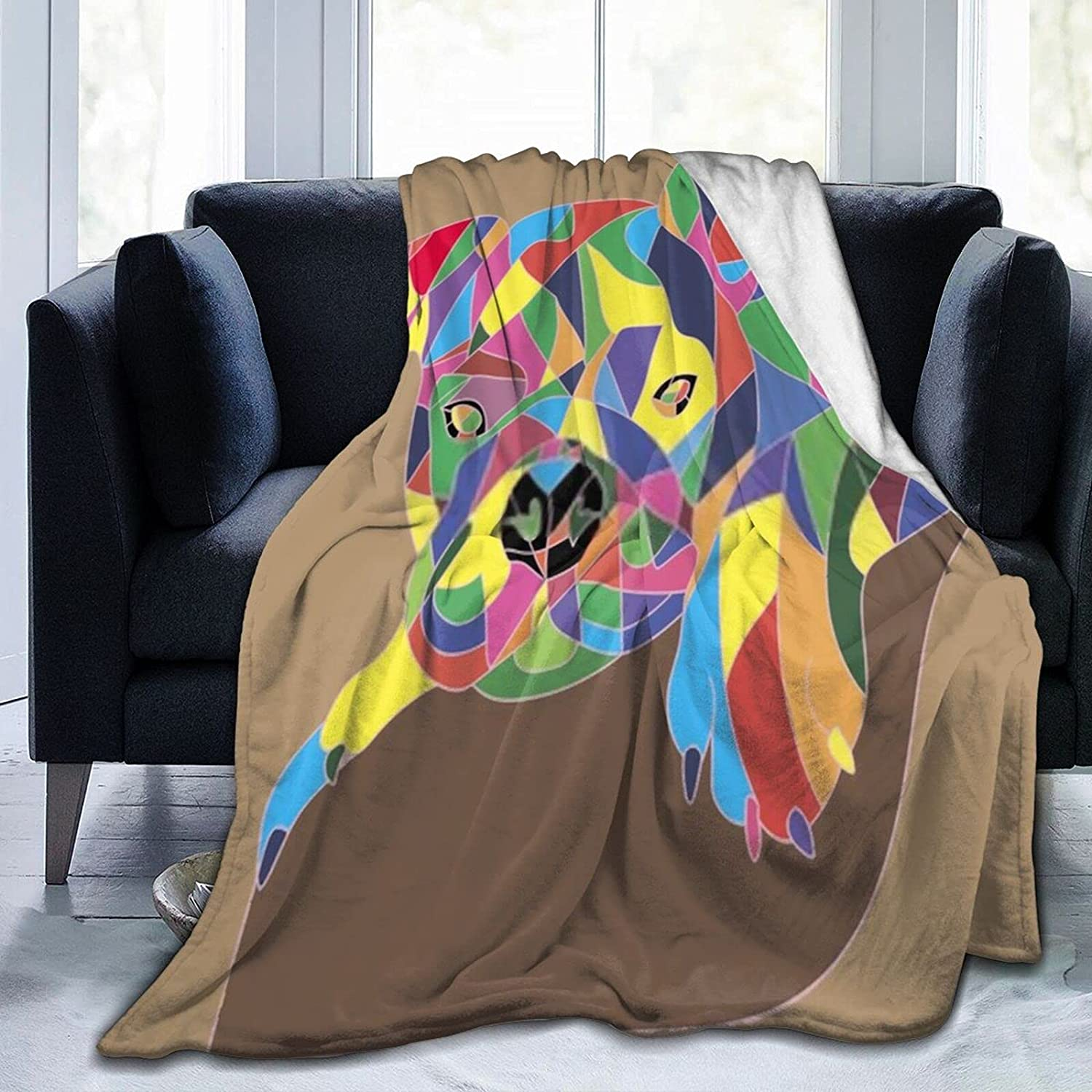 Tampa Mall Proud Quantity limited Dog Paws1 Blanket Soft Micro Comfortable Super Wo and