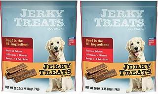 Jerky Treats Tender Strips Dog Snacks Beef 60 oz. 3.75 lbs Jerky-hl Jerky-7q