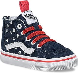 Vans Girls Sk8 Hi Zip Skateboarding Shoes