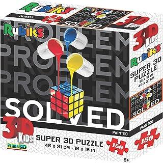 Rubik's- Puzzle 3D, RB10902, Multicolore