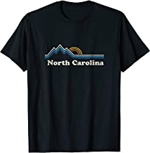 Retro North Carolina NC T Shirt Vintage Mountains Tee