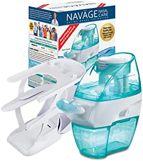 Navage Nasal Care Essentials Bundle: Navage Nose Cleaner, 36 SaltPod Capsules, and Countertop Caddy. 116.90 if Purchased S...